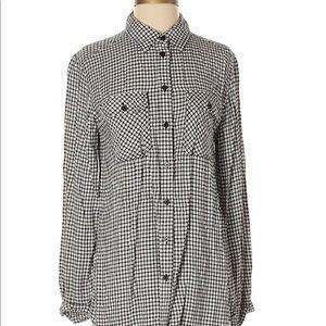 BDG Long Sleeve Button-Down Shirt